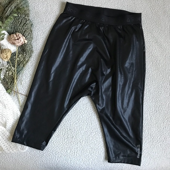 Reebok Pants - Reebok Black Yoga/Dance Pants Sz S